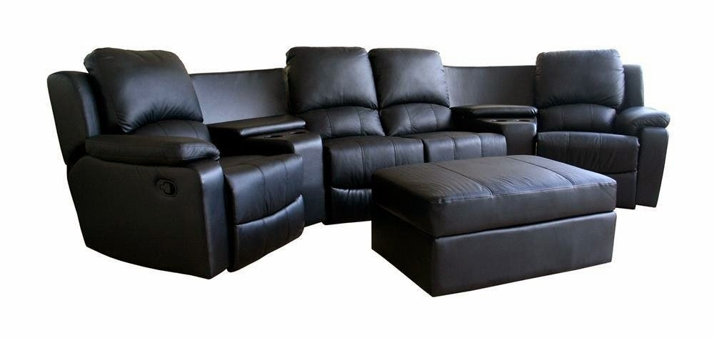 Superbe Curved Leather Recliner Sofa Reviews