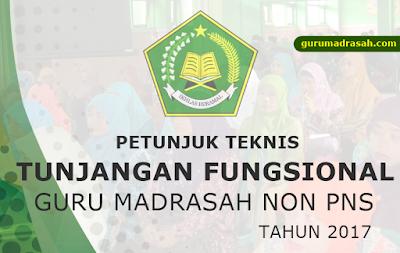 Juknis Tunjangan Fungsional GB-PNS RA/Madrasah Tahun 2017