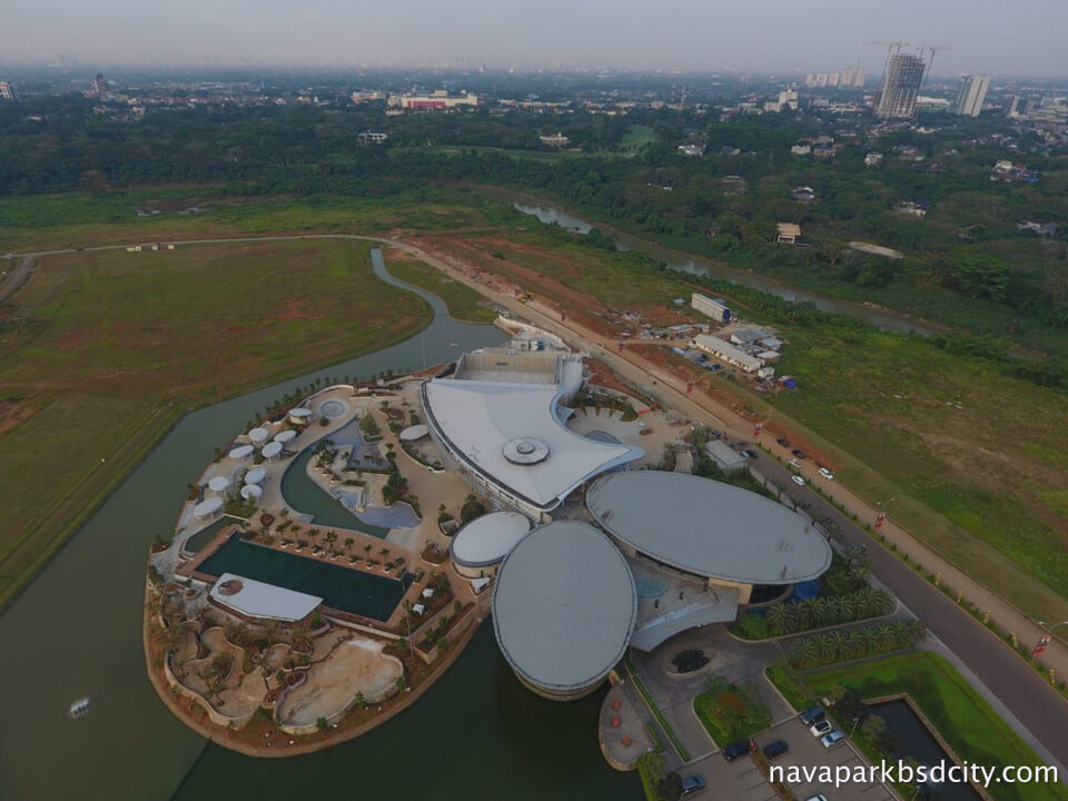 Foto Progress Pembangunan Navapark Country Club 2017