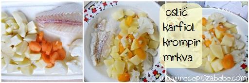 Oslic, karfiol, cvjetaca i krompir za bebe