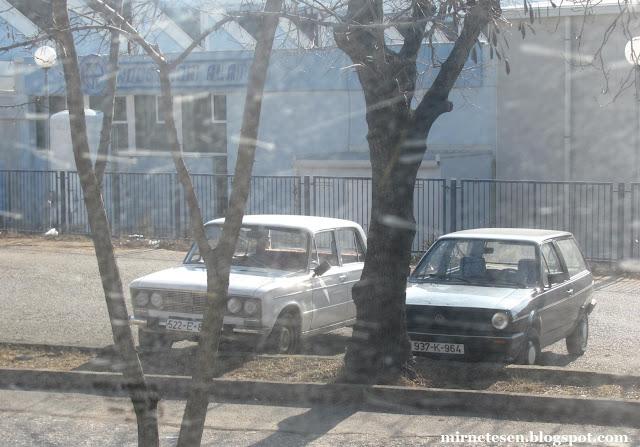 Советская Лада в Требине, Босния и Герцеговина