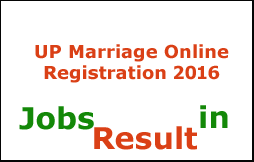 UP Marriage Online Registration 2016