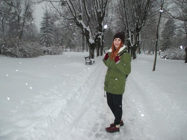 zaful, recenzija, jakna, zima, snijeg, zimska odjeća, topla odjeća, odjeća za zimu, duks, zimske jakne, crvena kosa, narančasta kosa, ginger girl, blogerica, balkan, blog, moda, stil, zaful review,