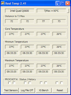 SOFTWARE PER CONTROLLARE LE TEMPERATURE DI UN NOTEBOOK