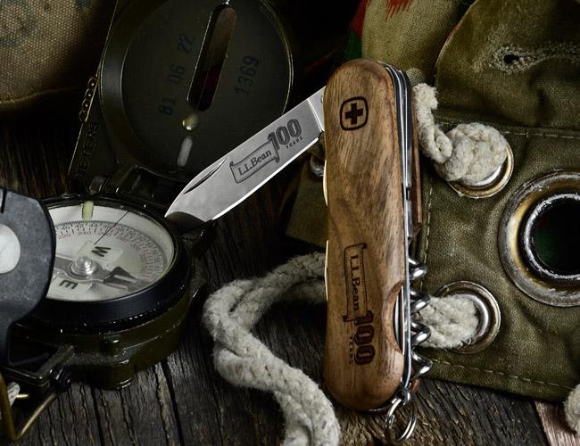 Caf 201 Racer 76 L L Bean 100th Anniversary Swiss Army Knife