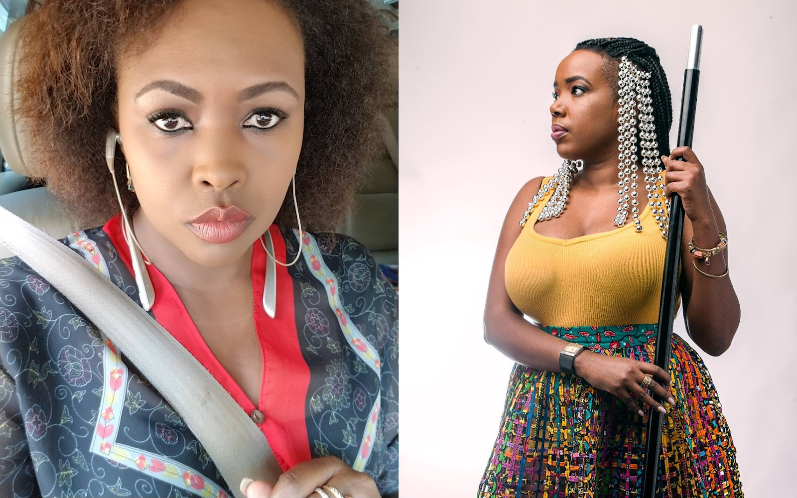 Female Celebrities In Kenya Who Are Chain Smokers