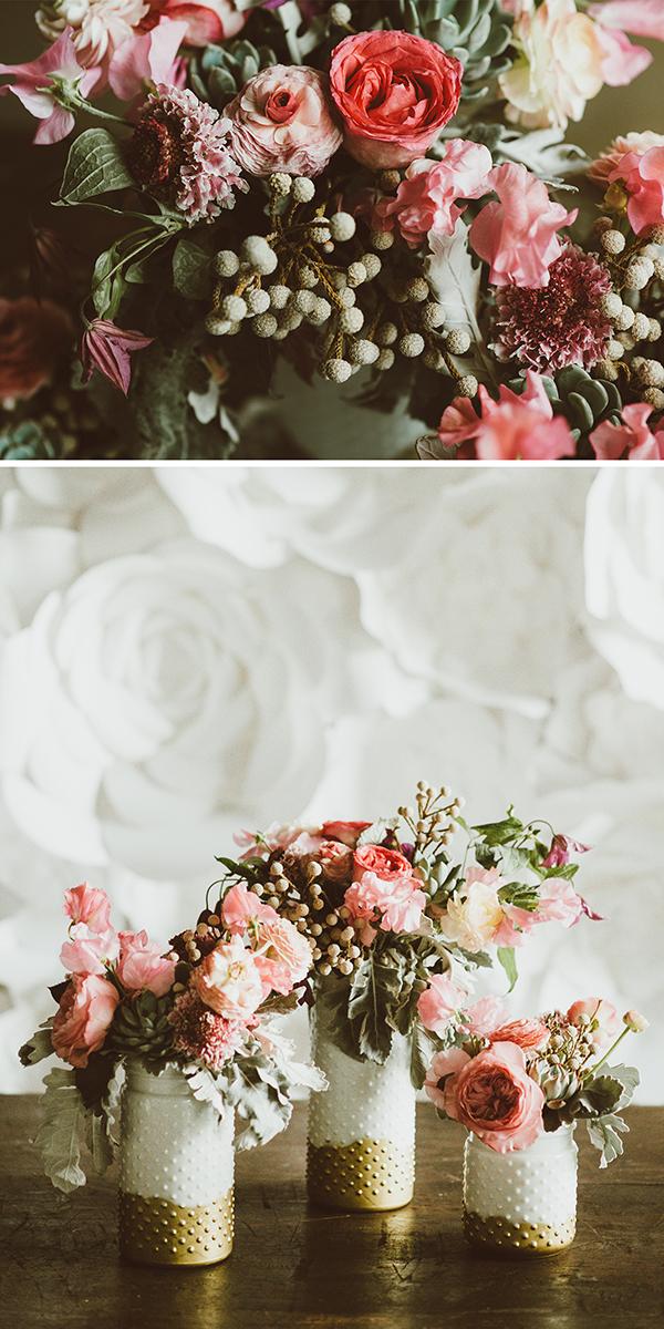 wedding inspiration: boho wedding reception details including a number of diy ideas | Creative Bag