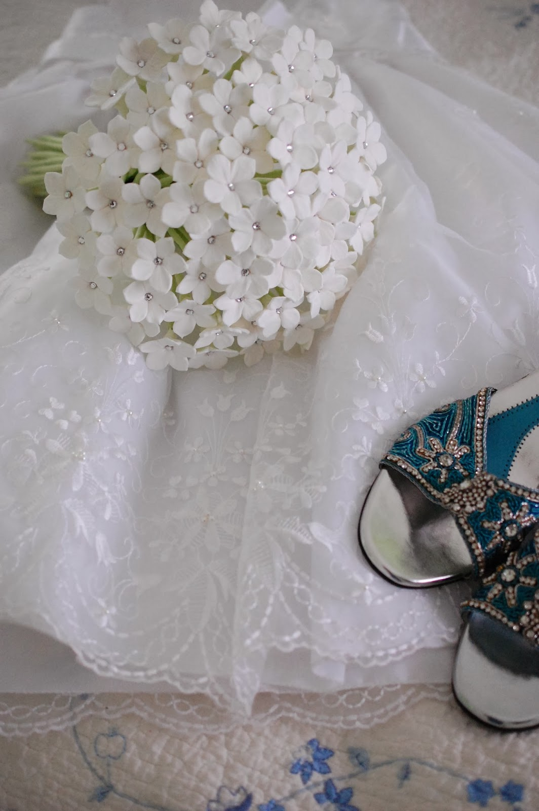 stephanotis wedding bouuqet