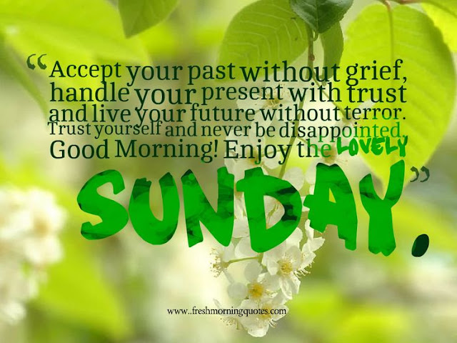 `sunday morning messages with pictures