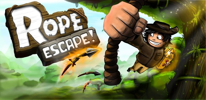 rope escape,android app,free download,android