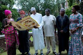 President Buhari in london