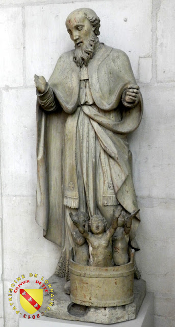 Saint-Nicolas (XVIIIe siècle) - Statue en pierre - Basilique de Saint-Nicolas de Port (54)