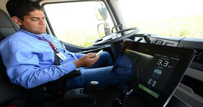 Volvo faz a primeira entrega de caminhões autônomos