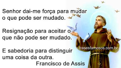 Frases de são Francisco de Assis