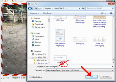Save File Foto