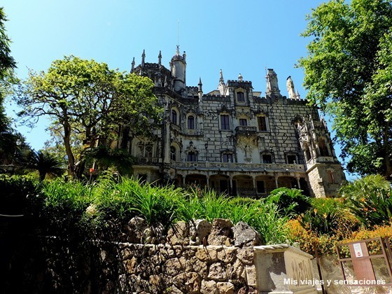 El palacio de la Quinta da Regaleira, Sintra, Portugal