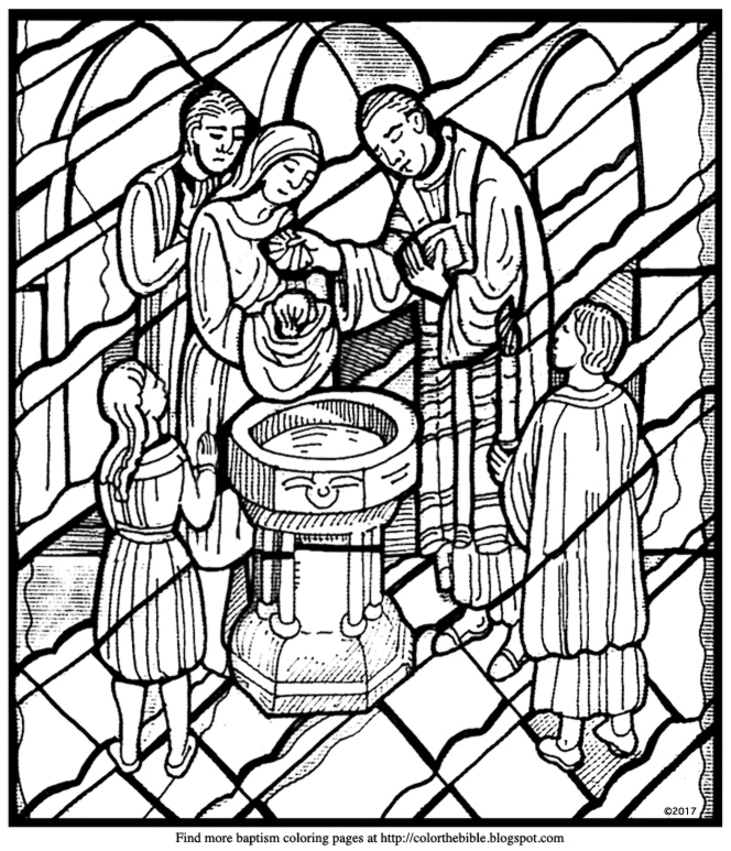 baptism shell coloring pages - photo#19