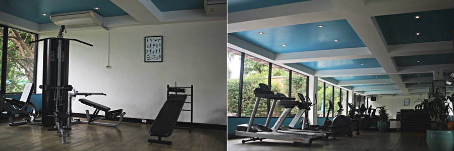 hotel luxury gym