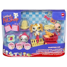 Littlest Pet Shop 3-pack Scenery Cat Longhair (#345) Pet