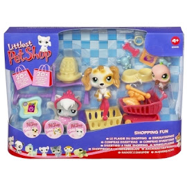 Littlest Pet Shop 3-pack Scenery Spaniel (#344) Pet