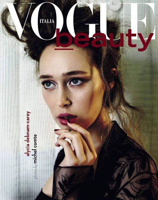 Actress, @ Alycia Debnam-Carey – Vogue Italia Beauty Magazine September 2016