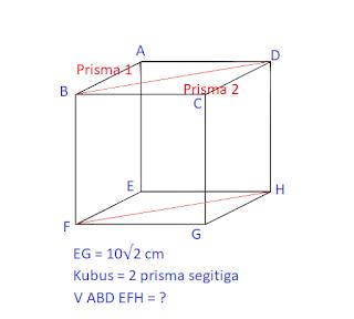 Contoh Soal Prisma Segitiga nomer 4