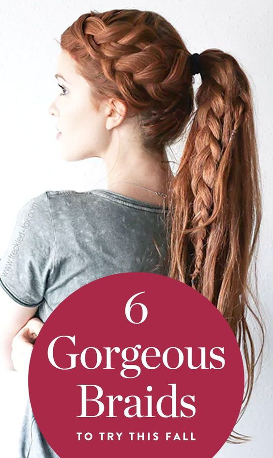 6 Gorgeous Braids to Cozy Up to This Fall