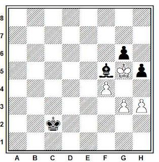 Problema ejercicio de ajedrez número 813: Alberto Zarzar - Atilio Mojica (Campeonato de El Salvador, 1969)