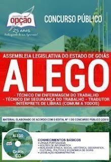 Baixar Apostila Concurso ALEGO 2019 PDF Download