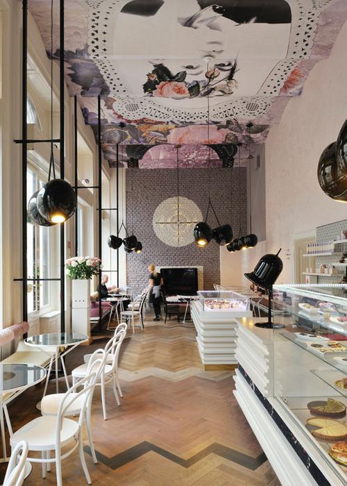 decoration de cafe bar - eliane sampaio interiores cafeterias pelo mundo