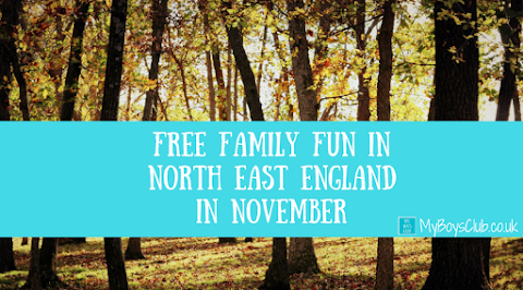 Free Family Fun in North East England in November