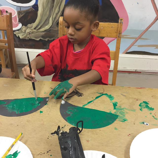 toddler art class marietta georgia museum painting top black mom mommy motherhood blogger