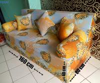 Sofa bed inoac no 2 saat difungsikan sebagai sofa