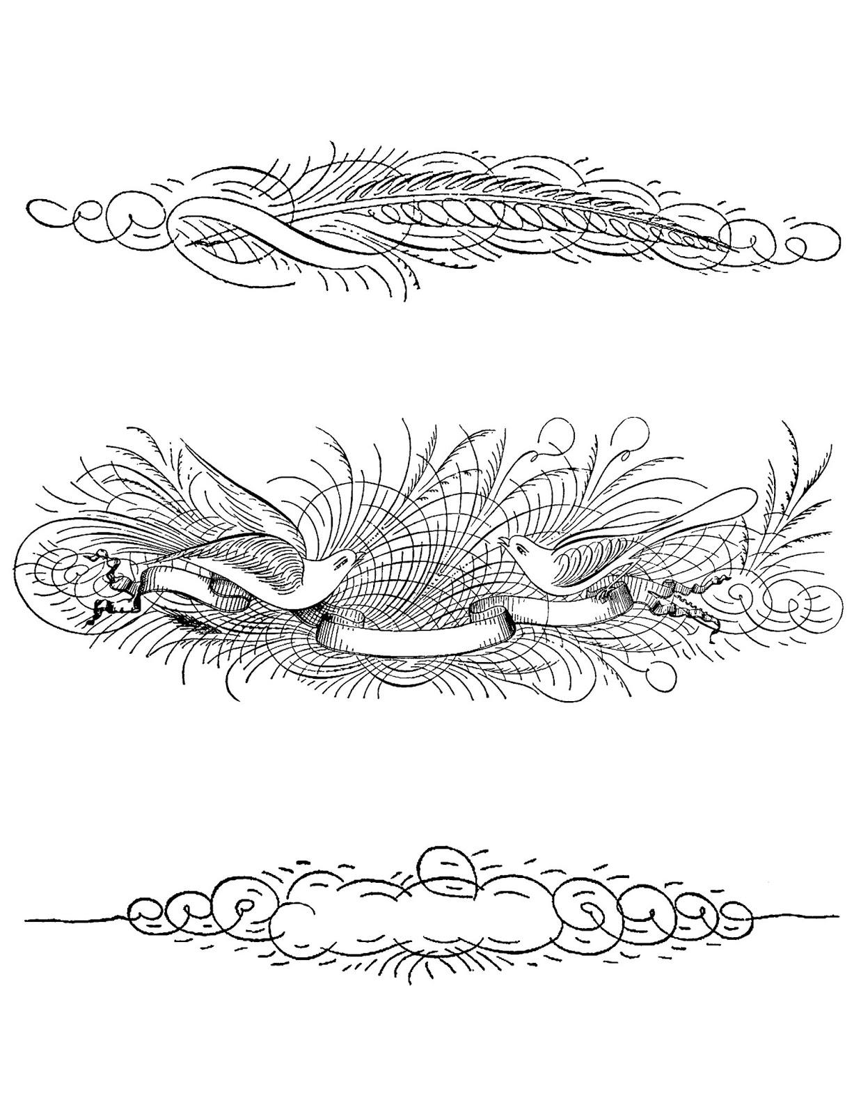 the graphics monarch: digital decorative label designs text page