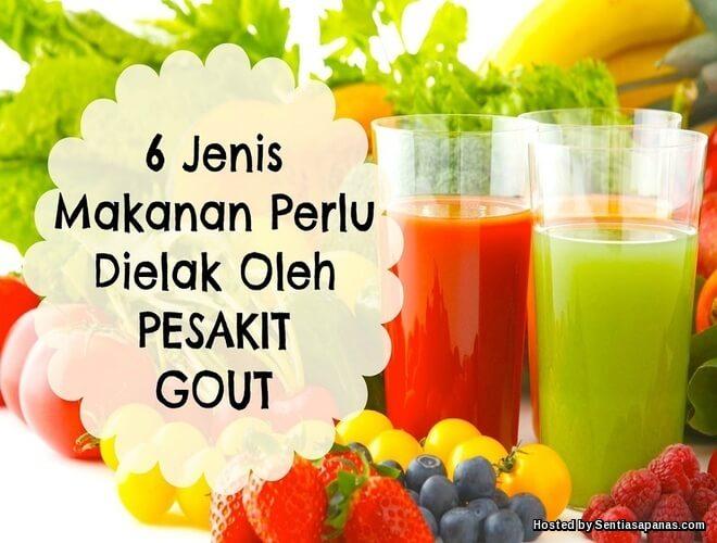 6 Jenis Makanan Perlu Dielak Pesakit Gout
