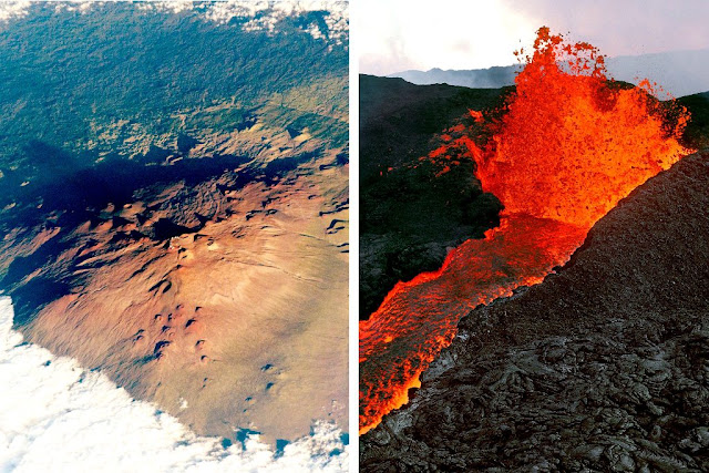 Why Two Volcanoes in Hawaii Are So Close, but So Different