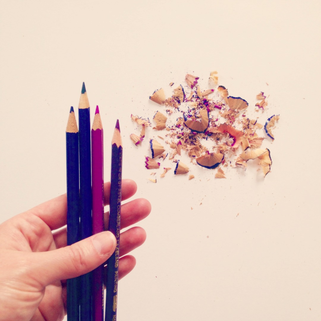 Adventures & Tea Parties blog post on how to be more creative by slowing down