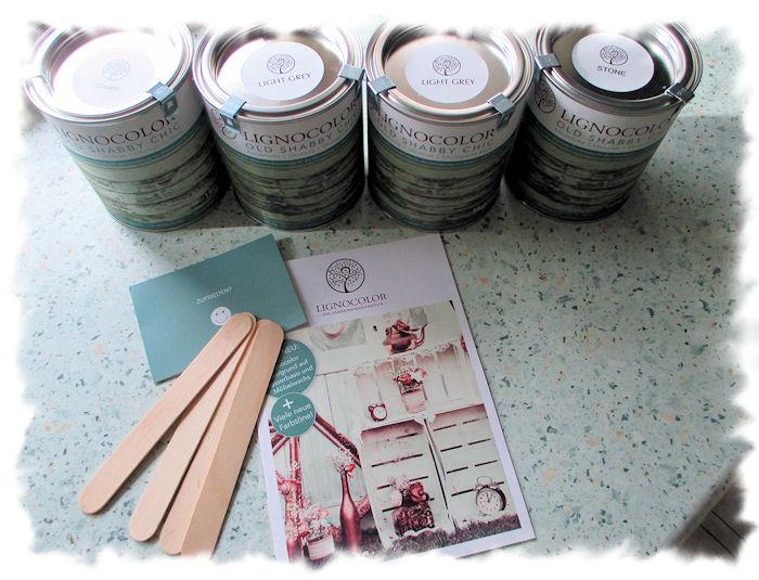 Krönelinchens Hobbys: Möbel streichen mit Kreidefarbe