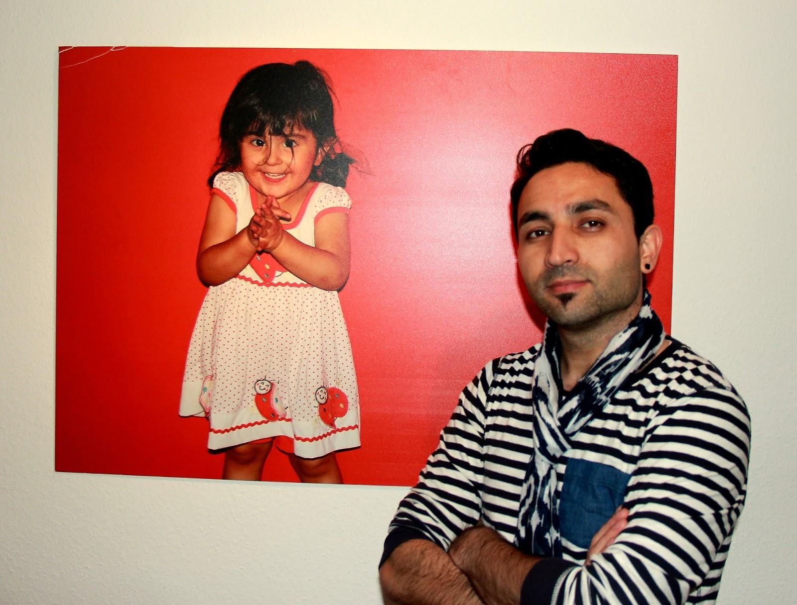 Gesicht Und Gefühl Vernissage Des Künstlers Parwiz Rahimi