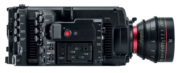 Canon C700 FF, вид сбоку