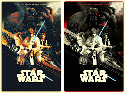 Star Wars: A New Hope Screen Prints by Matt Taylor x Bottleneck Gallery