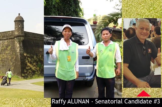Caddies Sa Intramuros Ubod Ng Saya Ng Mabalitaan Na Si Raffy ALUNAN ay Tatakbo sa Senado