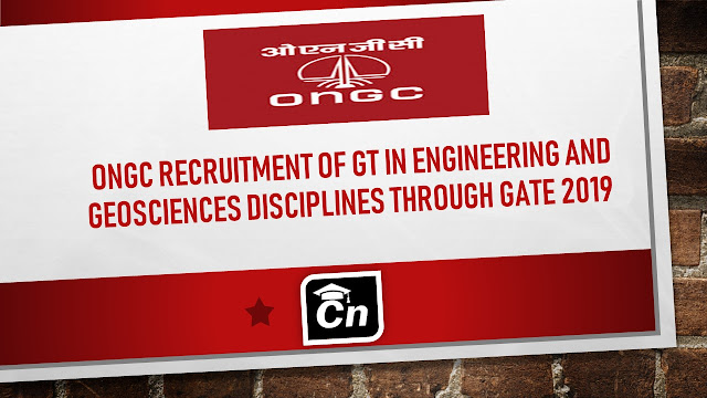 ONGC Recruitment of GT Through GATE 2019, Careerneeti Logo