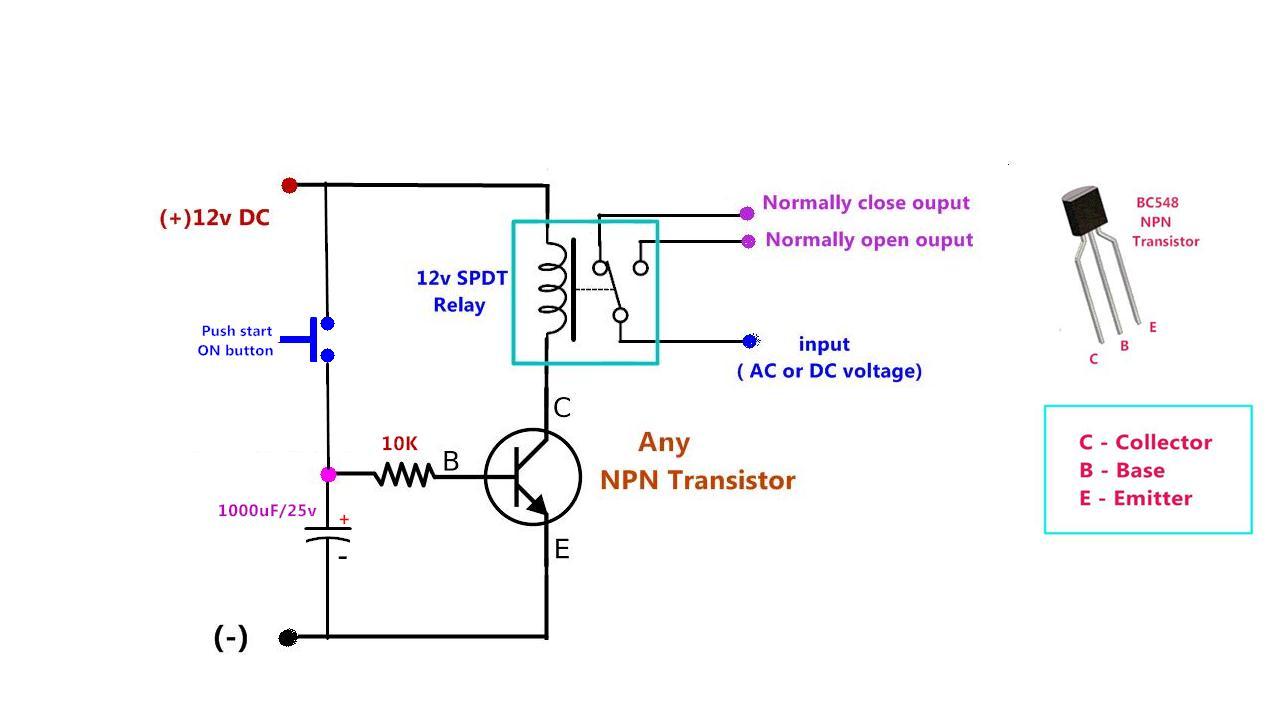 hight resolution of npn transistor wiring diagram