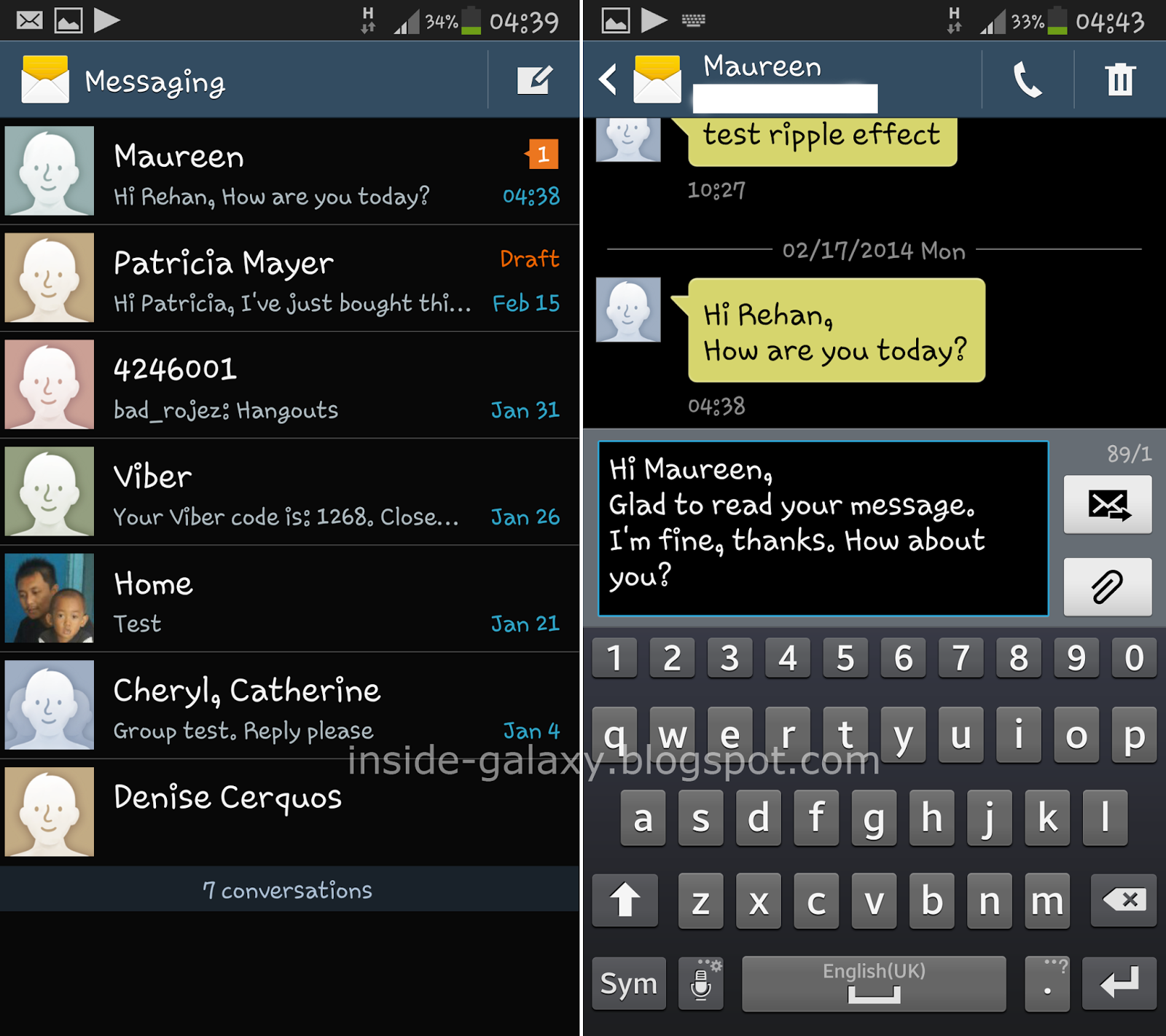 How To Turn Samsung Galaxy S4 Text Notifications On