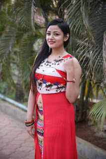 Actress Pallabi Ghosh Pictures in Red Dress at Silk India Expo Launch  0001.jpg