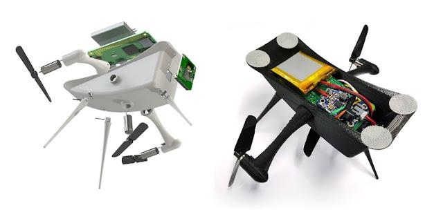 гондола роботизированного дирижабля