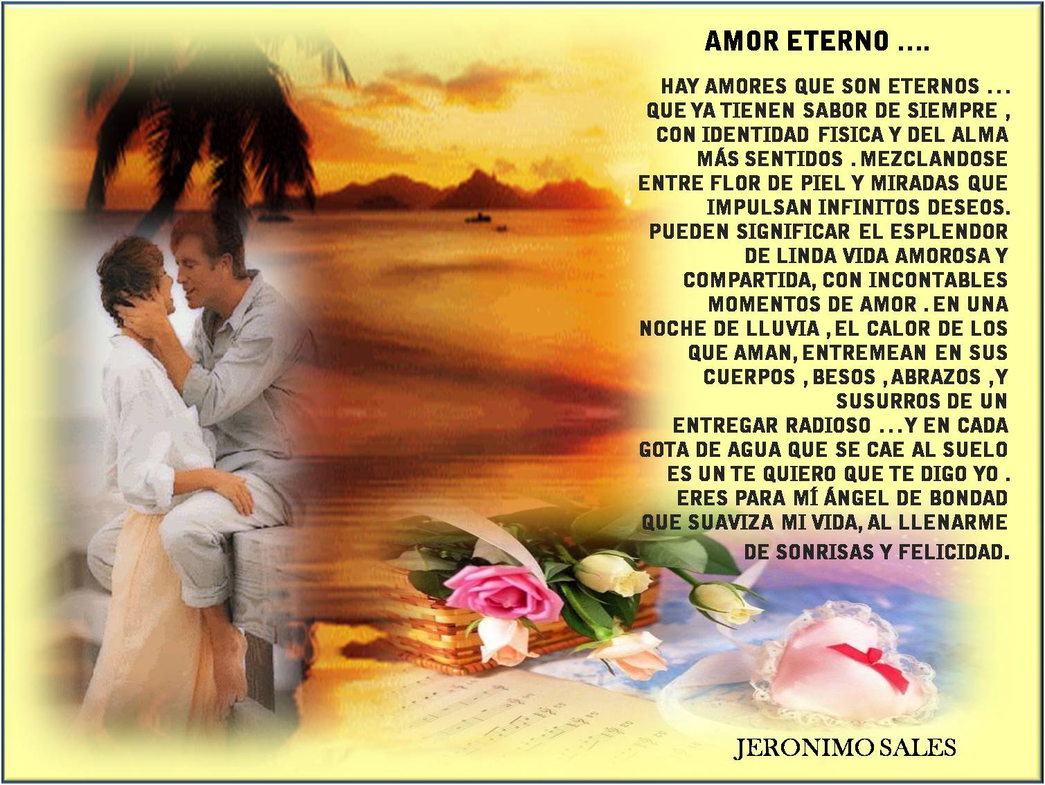 Imagenes Con Frases De Amor 2 El Unico Sentimiento