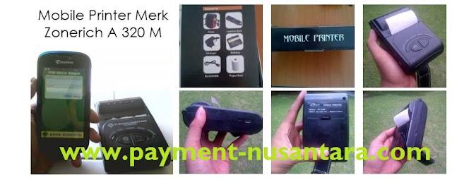 Gambar Printer Mobile  Mobile Loket ( Loket Pembayaran Bergerak )