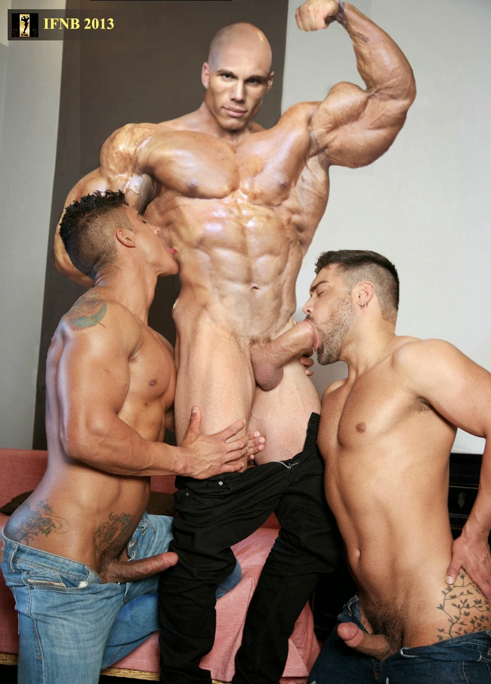 Find the best Male Bodybuilders With Big Cocks.